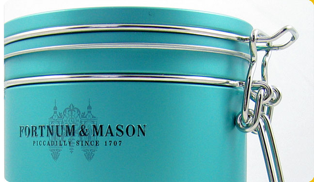 Fortnum and mason packaging design