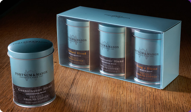 Fortnum and mason packaging news
